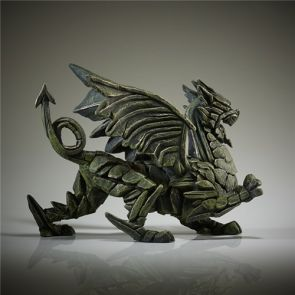 Edge Sculpture Dragon Green