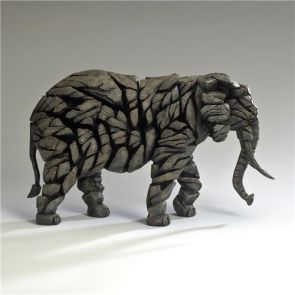 Edge Sculpture Elephant Mocha