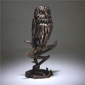 Edge Sculpture Owl Golden