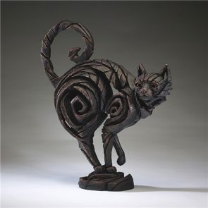 Edge Sculpture Cat Black