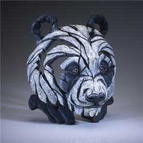 Edge Sculpture Panda Bust Black/White