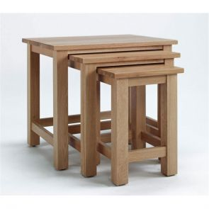 Kingsbridge Dining Nest Of Oak Tables