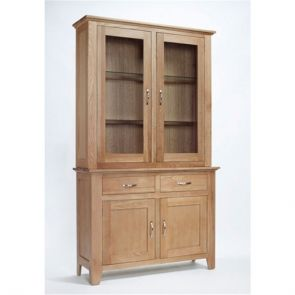 Kingsbridge Dining Oak Glazed Complete Dresser