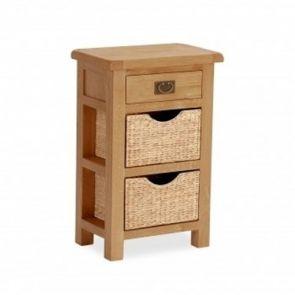 Oakhampton Telephone Table With Baskets