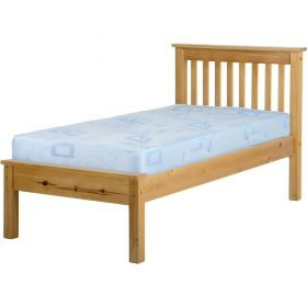 Newquay 3' Single Antique Pine Bed Frame LFE