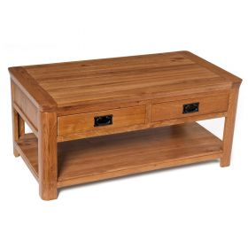 Wessex Coffee Table With 2 Drawers