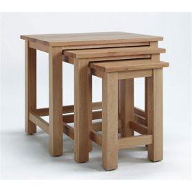 Kingsbridge Dining Nest Of Oak Tables