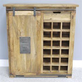 Industrial Wine Cabinet