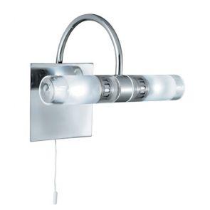 Bathroom - Ip44 (G9 Led) 2 Light Clear/Frosted Glass, Chrome BPOSL472