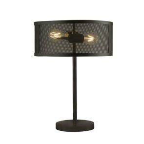 2 Light Table Lamp, Matt Black BPOSL521