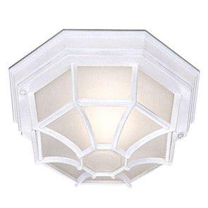Outdoor & Porch - White Flush Light BPOSL540