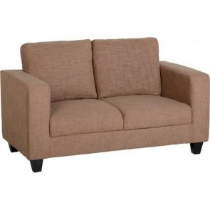 Cameron Sofas 2 Seater - Sand Fabric