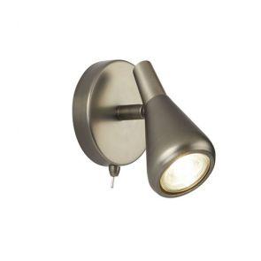 1 Light Spotlight, Gu10, Antique Silver BPOSL1178