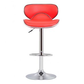Stools Red Arched Back Stool