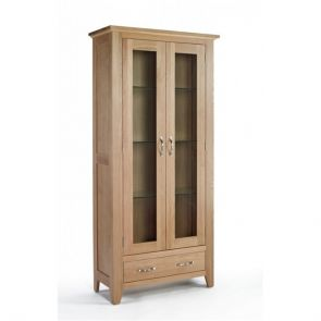 Kingsbridge Dining Oak Display Cabinet