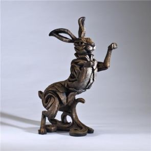 Edge Sculpture Hare Brown