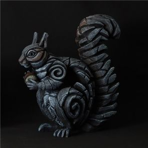 Edge Sculpture Squirrel Grey