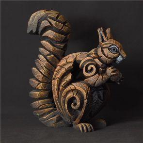Edge Sculpture Squirrel Red