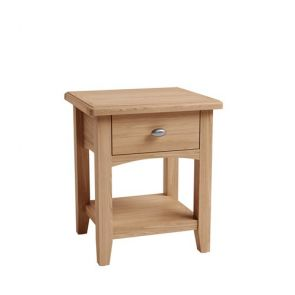Trinity Dining 1 Drawer Lamp Table