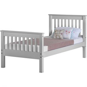 Newquay 3' Single Grey Bed Frame HFE