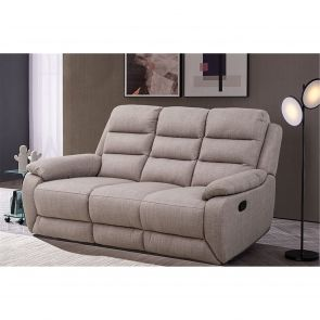 Seville Manual Reclining 3 Seater Sofa