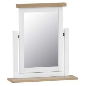 Fairford White Bedroom Trinket Mirror