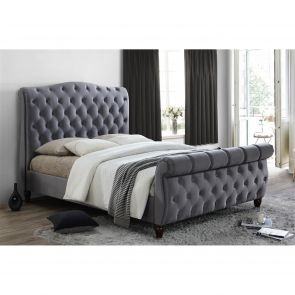 Catherine Fabric Sleigh Bed