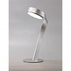 Clara Table Lamp, 1 x 10W LED, 3000K, 800lm, Silver/Polished Chrome,     Il2507H