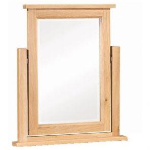 Chunky Oak Dressing Table Mirror
