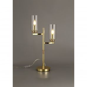 Daisy  Table Lamp, 2 x E14, Polished Gold IL6537HS