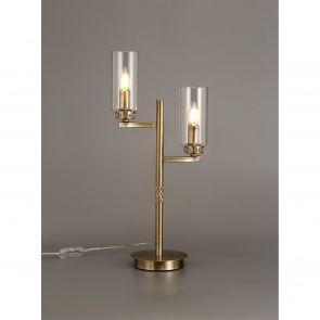 Daisy  Table Lamp, 2 x E14, Antique Brass IL8537HS