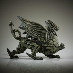 Edge Sculpture Dragon Green