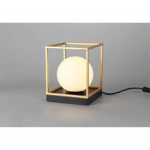 Honesty Table Lamp, 1 Light E14, Matt Black/Painted Gold IL6657HS