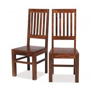 Deli  Capsule High Back Slat Chair
