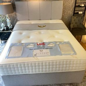 Cashmere Divan Base with 2 FREE Drawers & FREE Matching Headboard