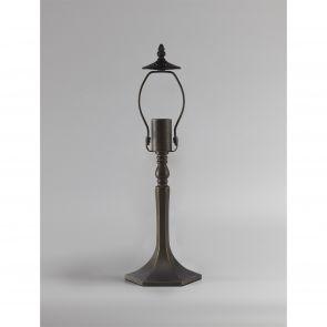 Marina 48cm Octagonal Table Lamp, 1 x E27, Ant Brass IL3827HS