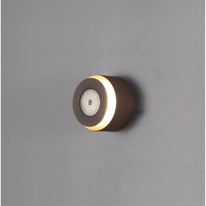 Melody Magnetic Base Wall Lamp, 1 x 12W LED, 3000K, 498lm, Coffee,     IL2517HS