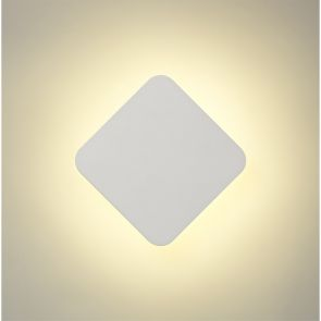 Melody Magnetic Base Wall Lamp, 12W LED 3000K 498lm, 20cm Square, Sand White IL9