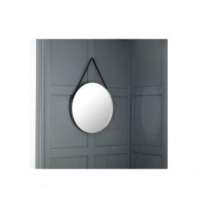 Mirrors Osterley Round Pewter Mirror